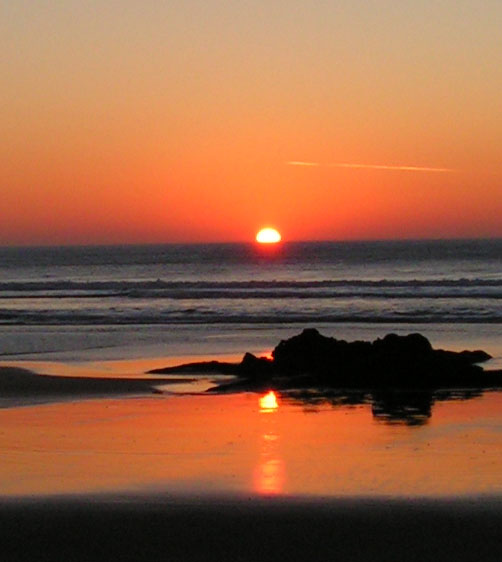 Beach Horizon Sunset | www.pixshark.com - Images Galleries ...