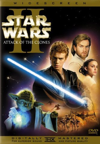 star wars ii attack of the clones dvd cover. Star Wars - Episode II, Attack of the Clones
